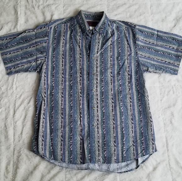 Wrangler Other - ♦️SOLD♦️ Vintage 90's Wrangler Aztec Print Shirt